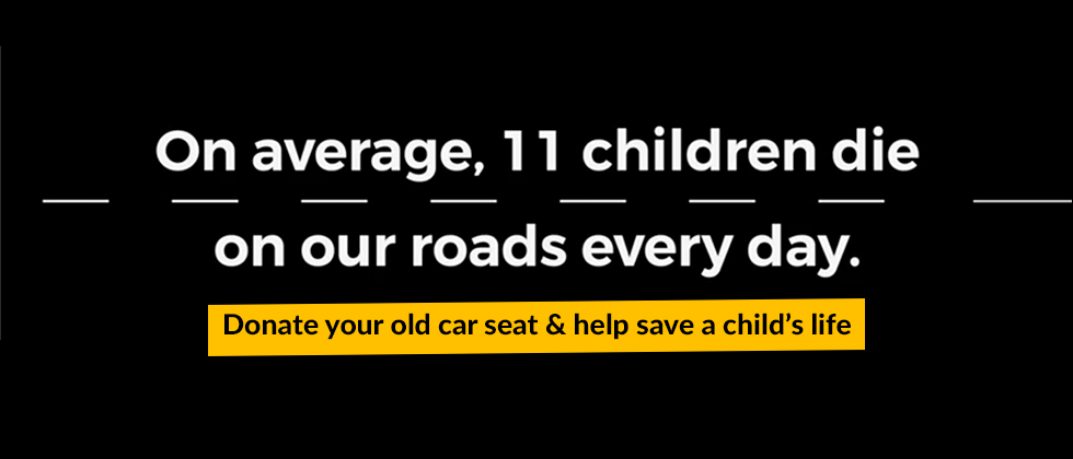 On average, 11 children die on our roads every day
